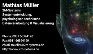 2M-Systems - Systementwicklung, psychologisch technische Datenverarbeitung & Visualisierung